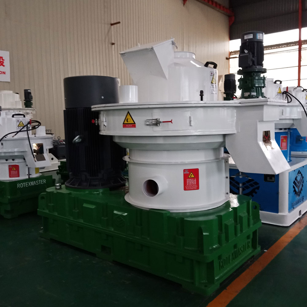 YGKJ880 Factory Hot Sale Automatic Lubrication 1.5T Per Hour Biomass Wood Pellet Machine