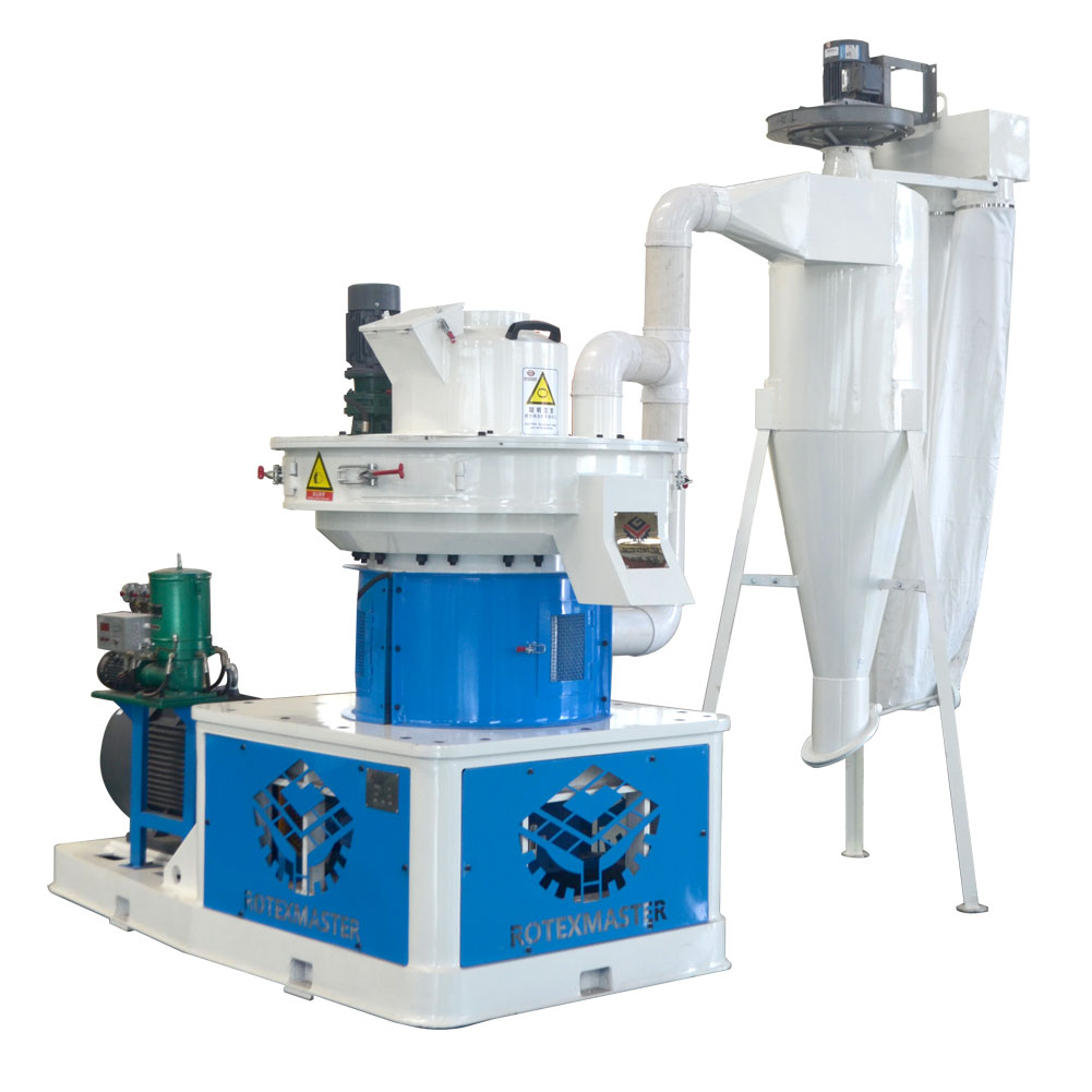 Hot Sale Vertical Centrifugal Ring Die Pellet Machine